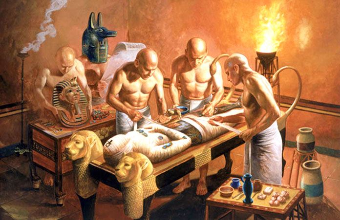 Cómo embalsamaban un cuerpo en el Antiguo Egipto