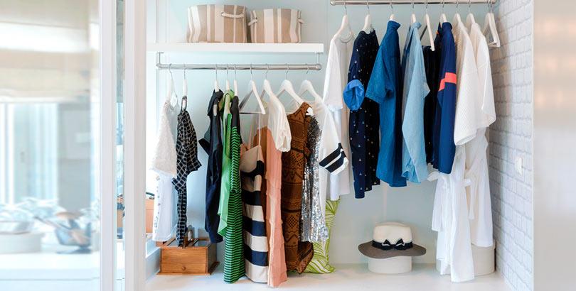 Cómo hacer un armario minimalista