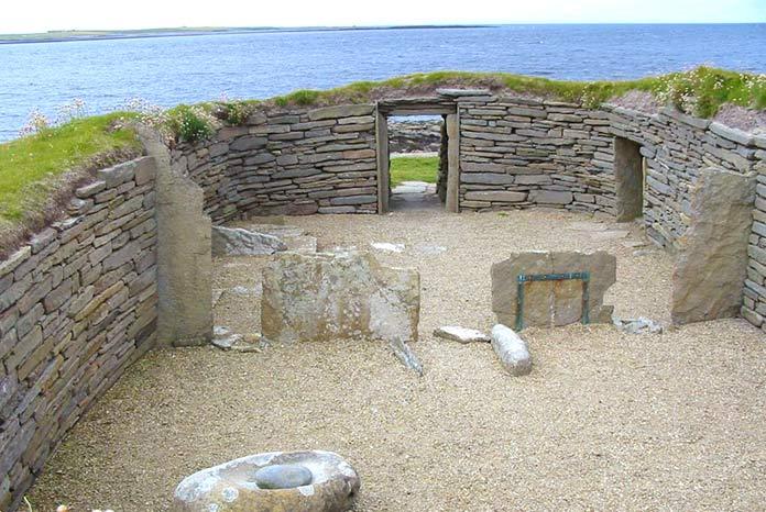 Edificios antiguos: Knap de Howar, Escocia