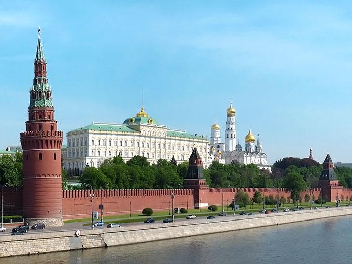 Edificios antiguos: El Kremlin