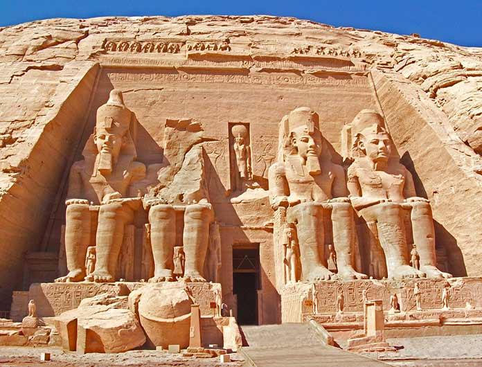 Edificios antiguos: Templo de Abu Simbel