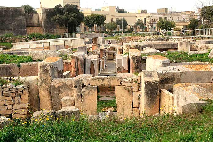 Construcciones antiguas: Templos de Tarxien, Malta