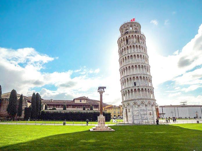 Edificios antiguos: Torre de Pisa