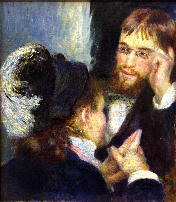 Conversación de Pierre-Auguste Renoir