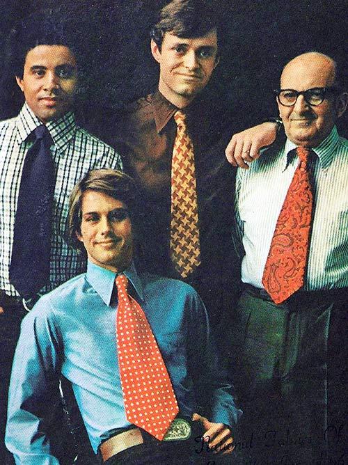 corbata extra ancha