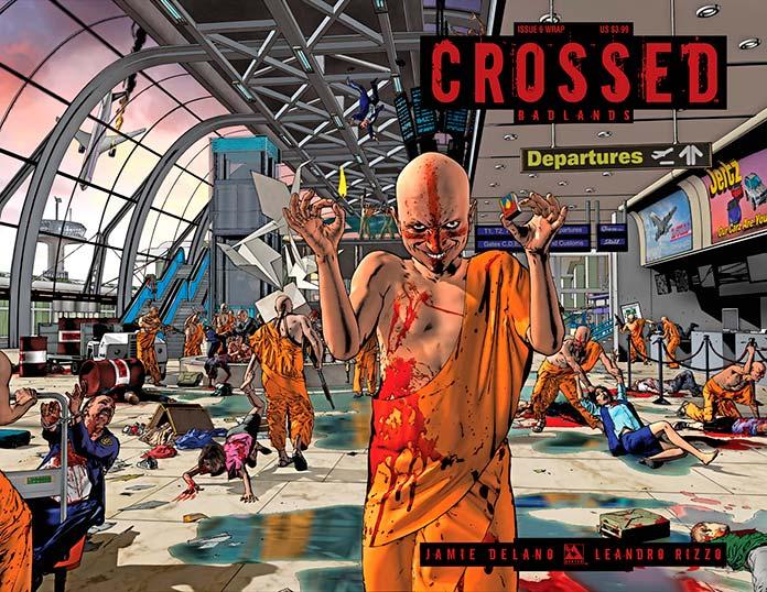 Portada del cómic Crossed Badlands