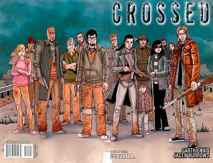 Portada del primer cómic de la serie Crossed
