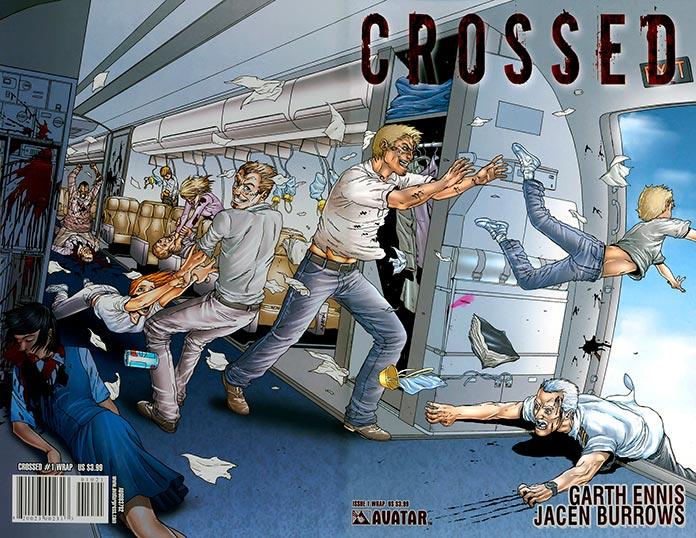 Primer volumen del comic Crossed