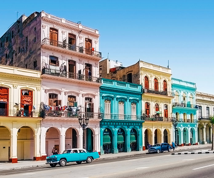 calle de La Habana en Cuba