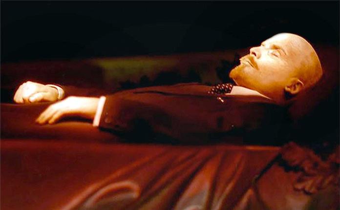 cuerpo embalsamado de Vladimir Ilyich Lenin