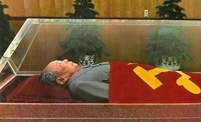 embalsamar un cuerpo: Mao Tse Tung