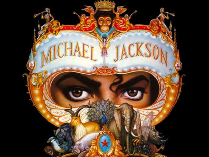 Portada del disco Dangerous de Michael Jackson