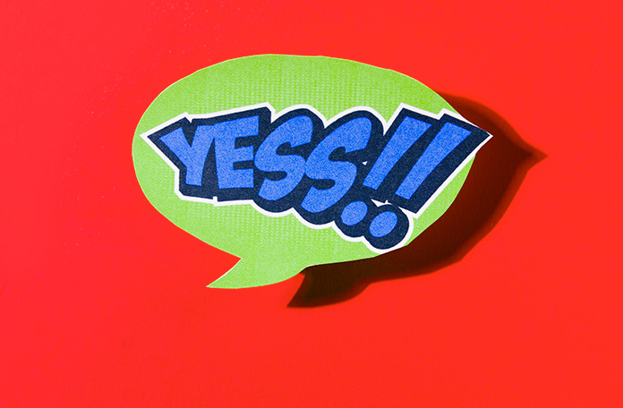 "Aprende a decir ""sí"" a casi todo"