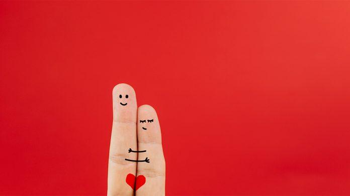 dedos enamorados