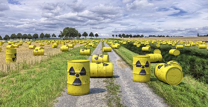 Desechos radiactivos