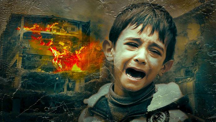 Niño angustiado (Pixabay)