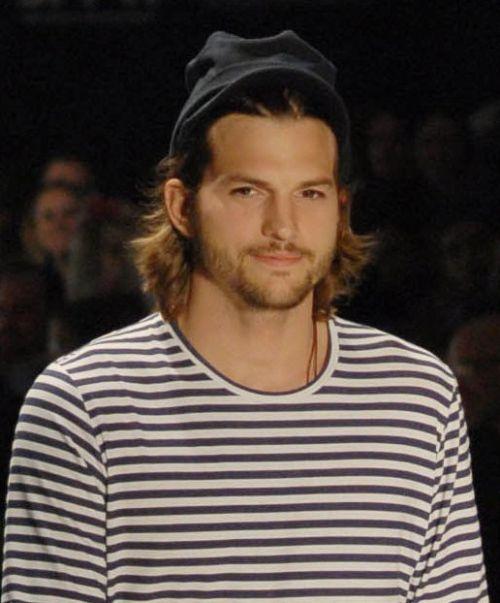 Actores famosos que empezaron como modelos - Ashton Kutcher