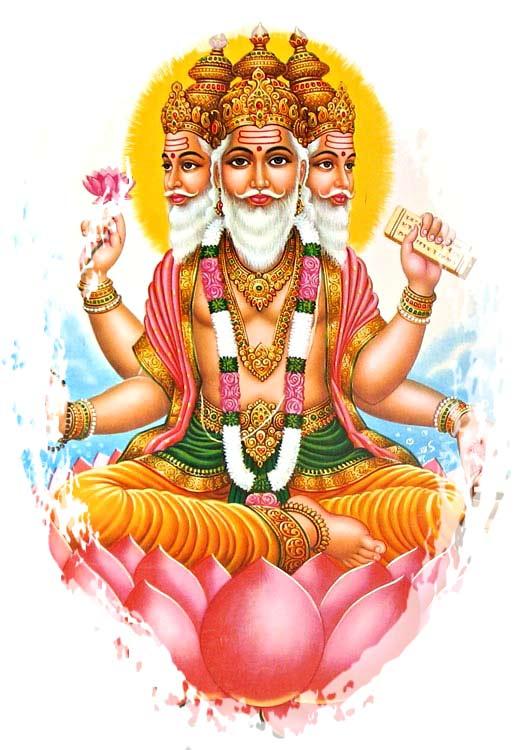 Dioses hindúes - Brahma