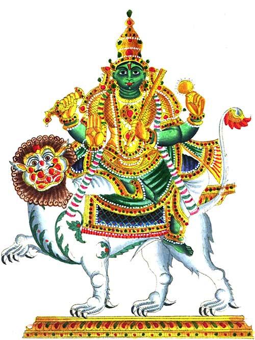 Dioses hindúes - Budha