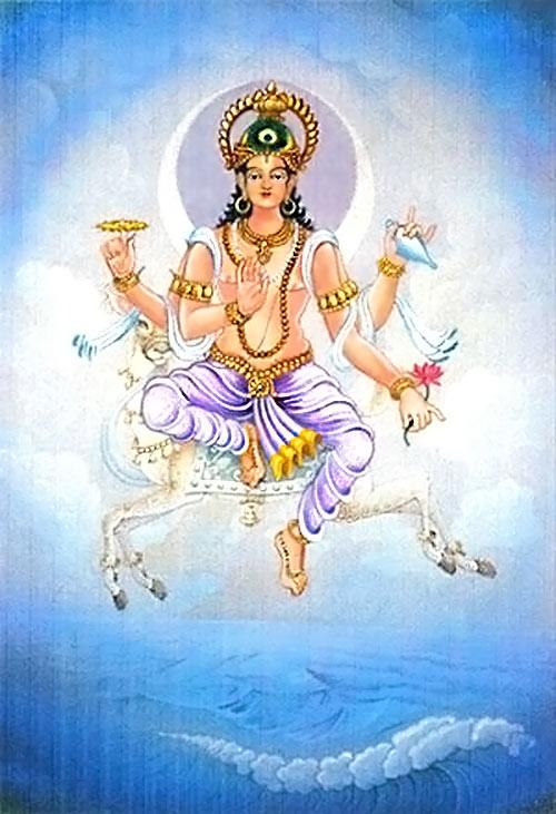 Dioses hindúes - Chandra