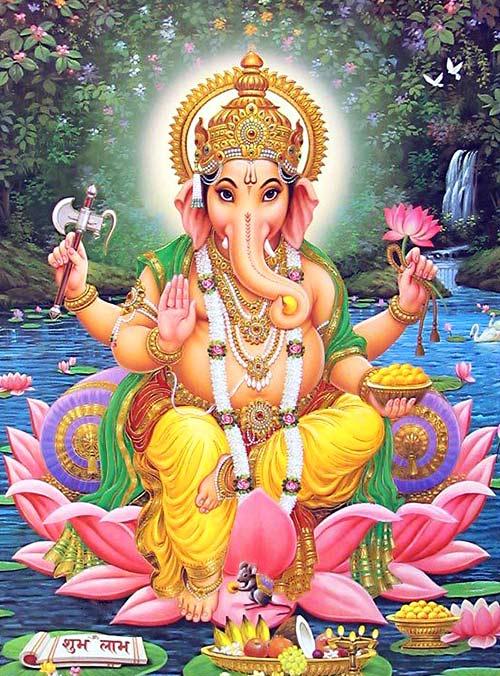 Dioses hindúes - Ganesha