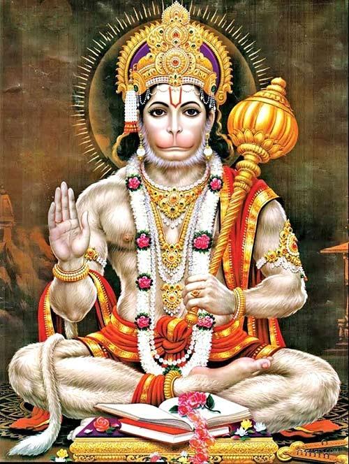 Dioses hindúes - Hanuman