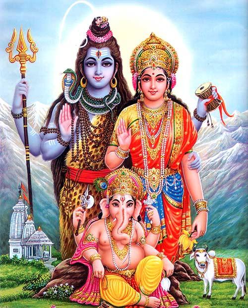 Dioses de la India - Parvati