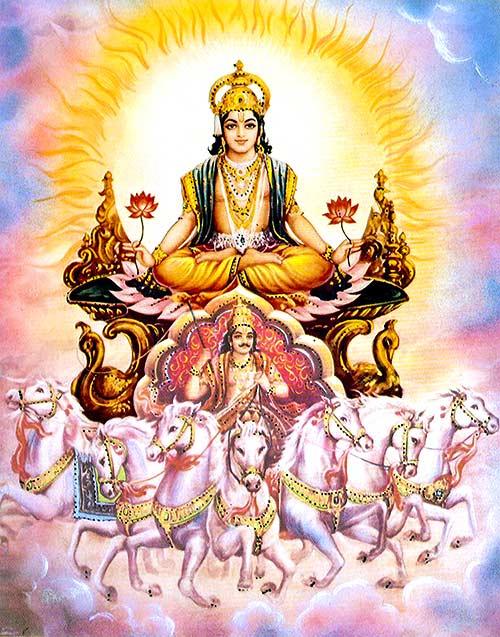 Dioses hindúes - Suria