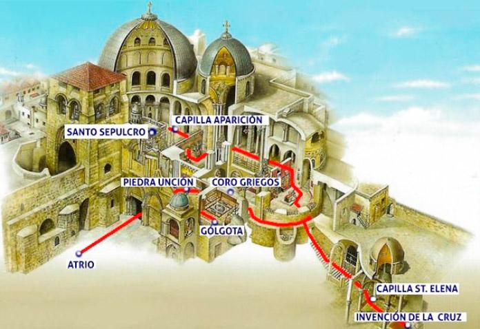 Construcción del Santo Sepulcro