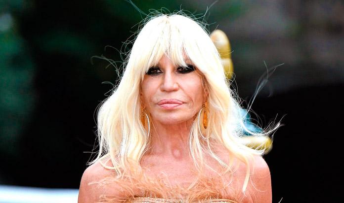 Donatella Versace después
