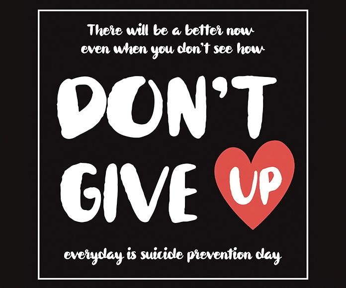 Logo de la iniciativa Don't Give Up