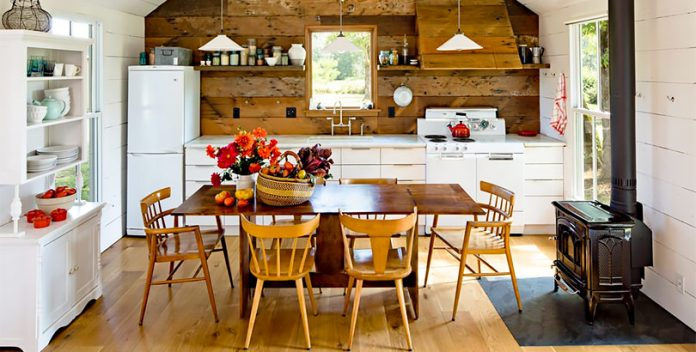 Eco decoración: una casa buena, bonita y barata.