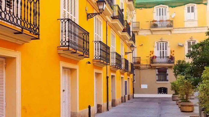 edificio típico español