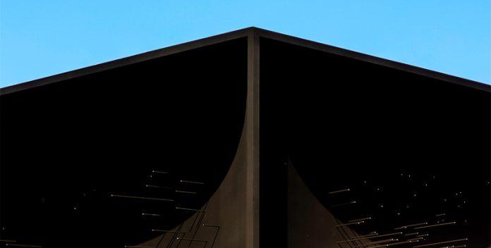 El edificio más oscuro del mundo absorbe la luz como una esponja.