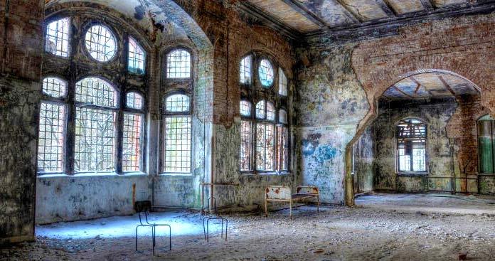 Edificios abandonados - Beelitz-Heilstätten