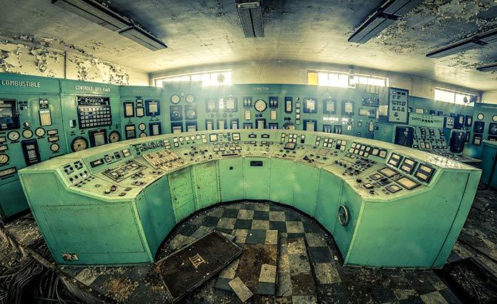 Edificios abandonados - Central eléctrica de Charleroi