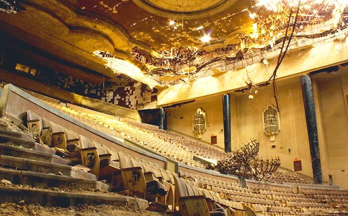 Edificios abandonados - Cine Ópera