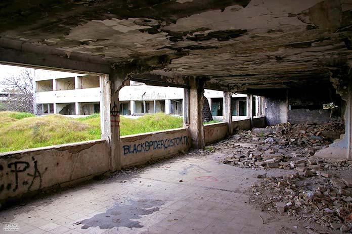 Edificios abandonados - Hospital Universitario San Pablo