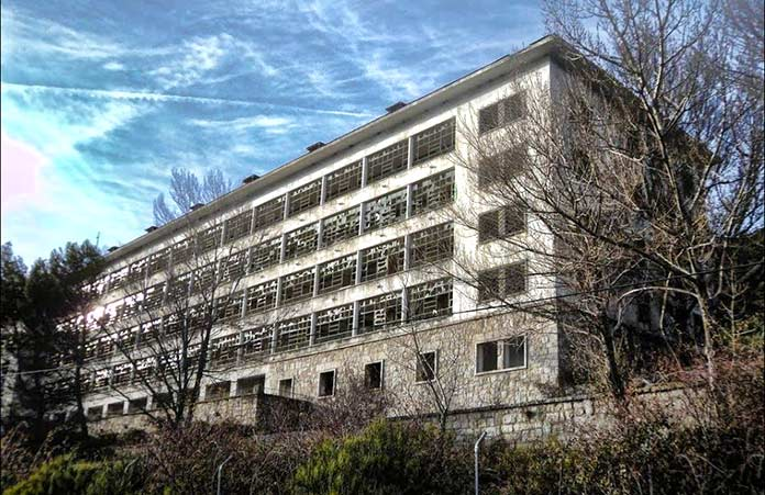 Edificios abandonados - Hospital de La Barranca