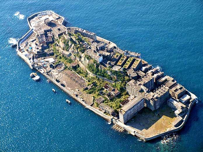 Edificios abandonados - Isla fantasma de Hashima