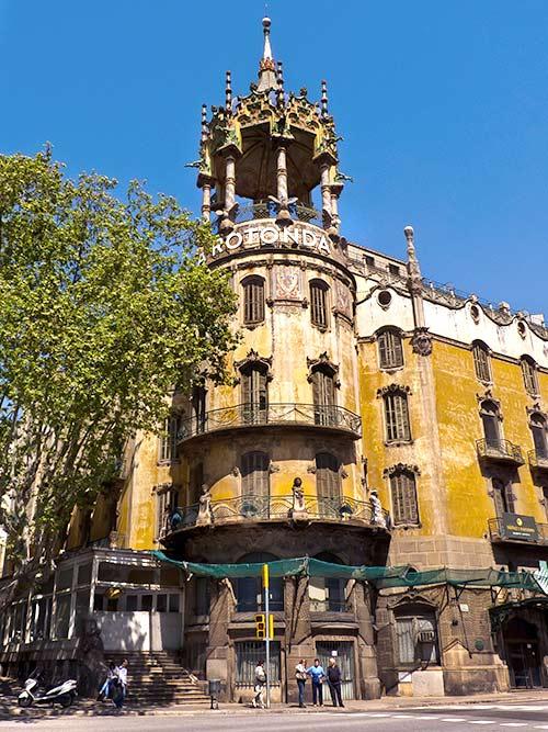 Edificios abandonados - La Rotonda
