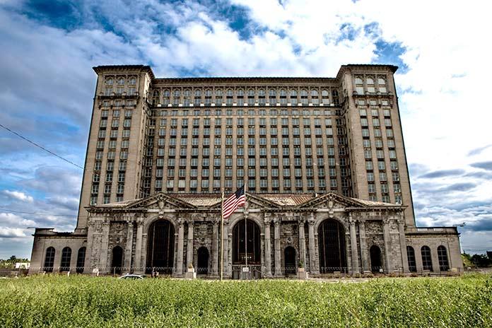 Edificios abandonados - Michigan Central Station