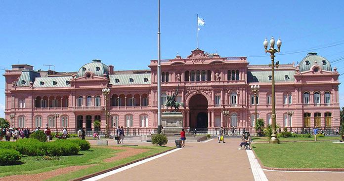 Edificios antiguos: Casa Rosada, Argentina