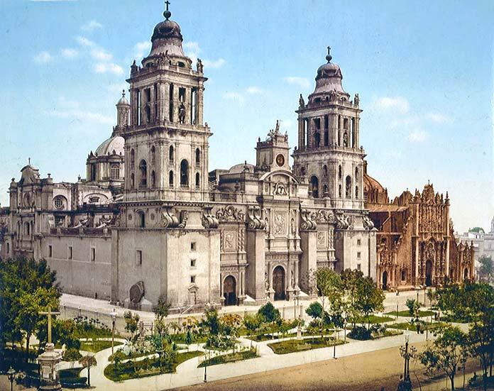 Edificios antiguos: Catedral Metropolitana, Ciudad de México