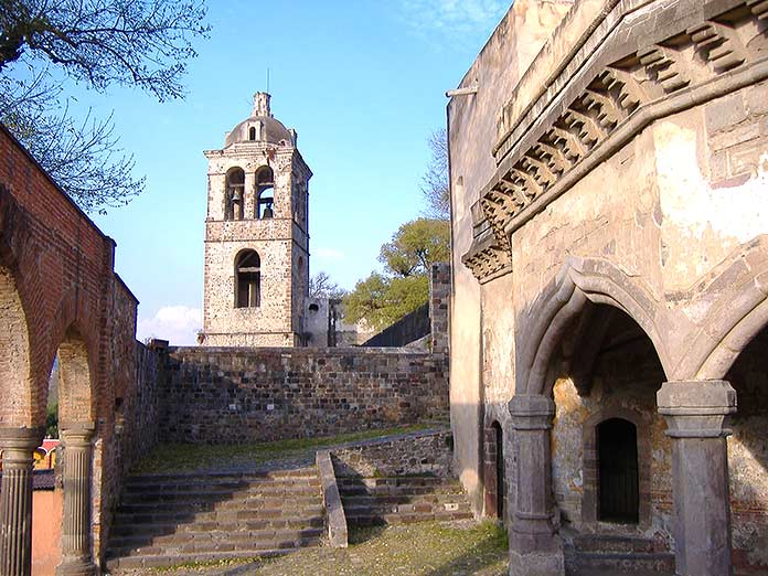 Edificios antiguos: Convento de San Francisco, Tlaxcala