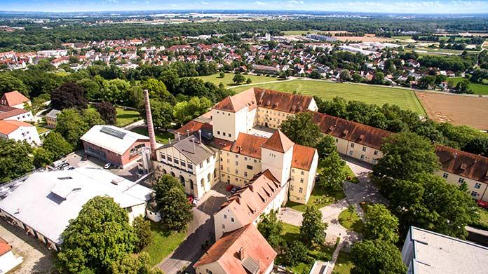 Construcciones antiguas: Fábrica de cerveza Weihenstephan, Alemania