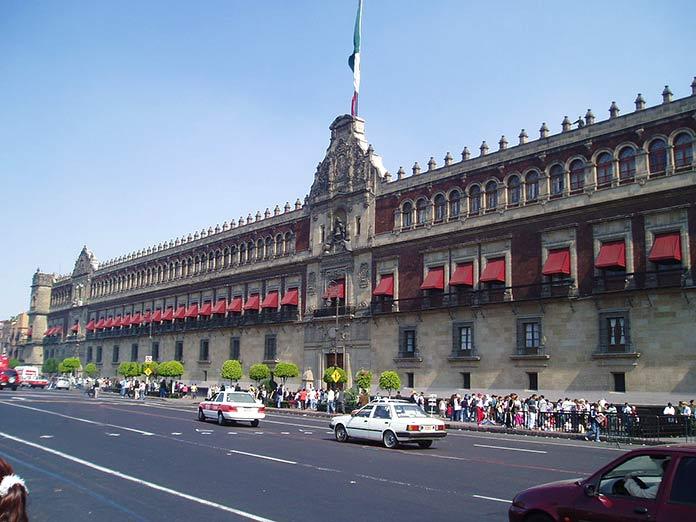 Edificios antiguos: Palacio Nacional de la Ciudad de México, Ciudad de México