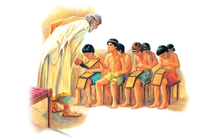 Sistema educativo en la Antigua Grecia