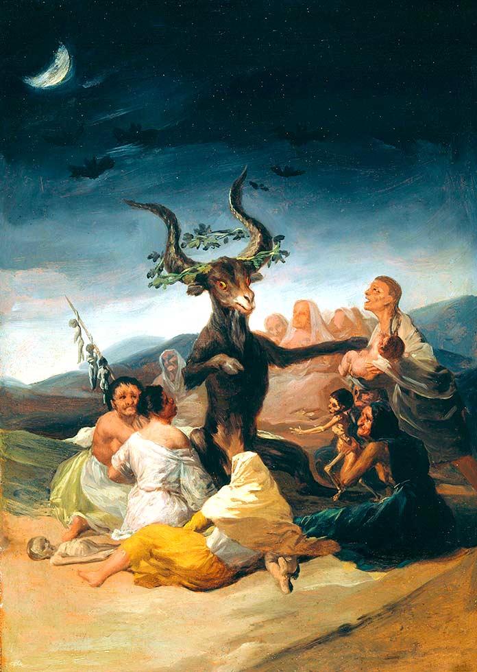 El Aquelarre de Francisco de Goya