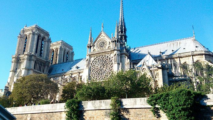 El bosque de la Catedral de Notre Dame